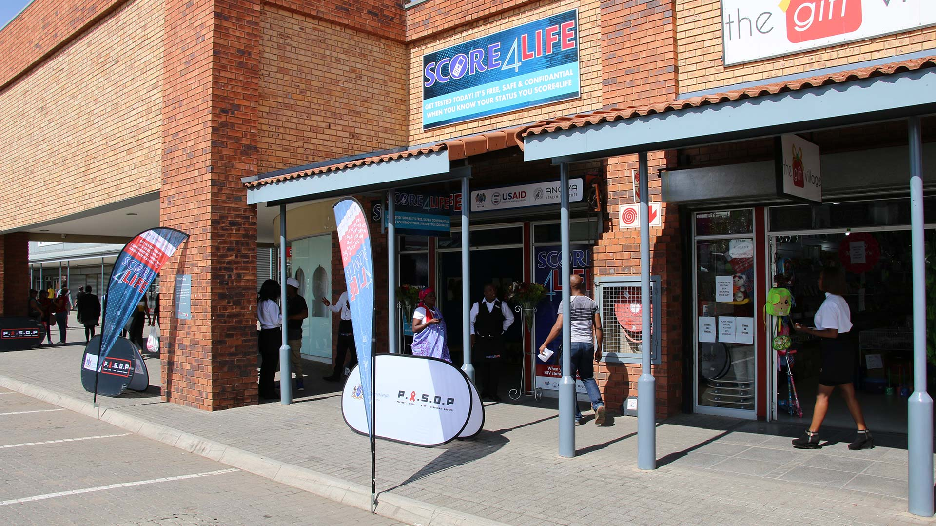 Score4Life Pop-up Clinic In Alex On The Up And Up